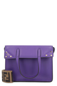 Fendi Flip mini leather tote, Tote bags Fendi woman