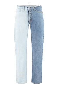 Destroyed straight leg jeans, Straight jeans Maison Margiela man