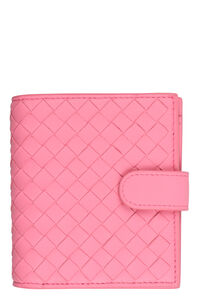 Intrecciato Nappa french-flap wallet, Wallets Bottega Veneta woman