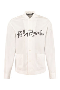 Long sleeve cotton shirt, Plain Shirts Palm Angels man