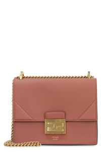 Kan U leather mini crossbody bag, Shoulderbag Fendi woman