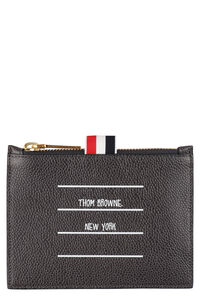 Leather coin purse, Wallets Thom Browne man