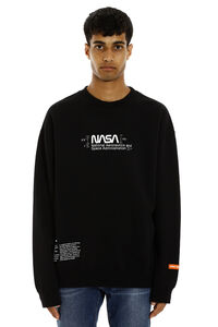 Printed cotton sweatshirt, Sweatshirts Heron Preston man