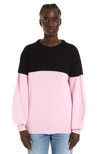 Color-block cashmere sweater, Crew neck sweaters Alexander McQueen woman