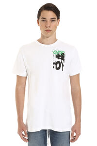 Printed cotton t-shirt, Short sleeve t-shirts Off-White man