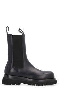 Lug leather boots, Chelsea boots Bottega Veneta man