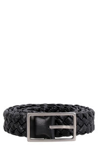 Woven leather belt, Belts Bottega Veneta man