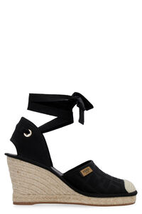 Jute wedge espadrilles, Wedges Fendi woman