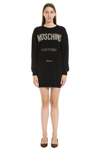 Intarsia sweater dress, Mini dresses Moschino woman