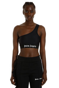 One-shoulder top, Crop tops Palm Angels woman