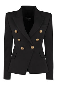 Double-breasted blazer, Blazers Balmain woman