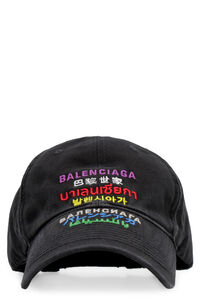 Embroidered baseball cap, Hats Balenciaga man