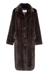 Theresa faux fur coat, Faux Fur and Shearling Stand Studio woman