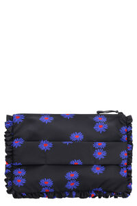 Clutch in nylon stampato, Clutch La DoubleJ woman