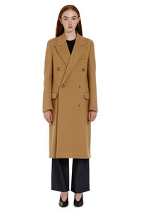 Double-breasted wool coat, Double Breasted Bottega Veneta woman
