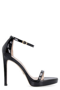 Nudist Disco patent leather sandals, High Heels sandals Stuart Weitzman woman