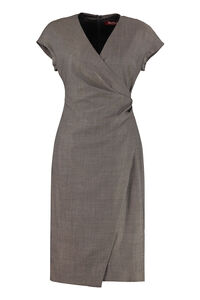 Osimo draped midi dress, Knee Lenght Dresses Max Mara Studio woman