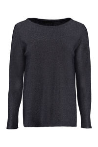 Lurex pullover, Crew neck sweaters Fabiana Filippi woman