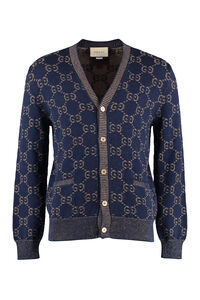 Cardigan with buttons, Cardigans Gucci man