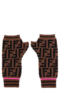 Knitted armwarmer, Gloves Fendi woman