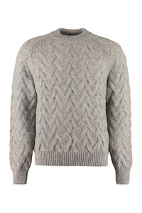 Abi cable knit sweater, Crew necks sweaters Séfr man
