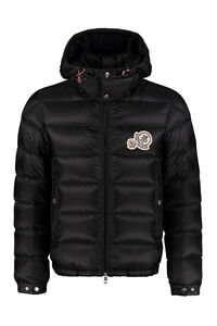 Bramant hooded down jacket, Down jackets Moncler man