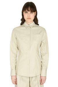 Faux leather shirt, Shirts MSGM woman