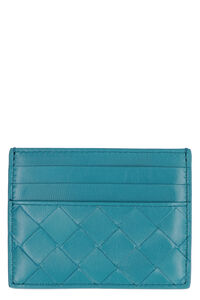 Intrecciato Nappa card holder, Wallets Bottega Veneta woman