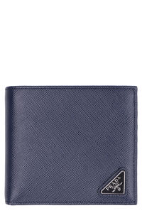 Saffiano leather wallet, Wallets Prada man