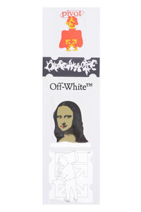 Monalisa Stickers Set, Lifestyle Off-White man