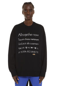 'All Together Now' cotton crew-neck sweatshirt, Sweatshirts Stella McCartney woman