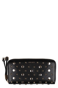Filipa leather zip around wallet, Wallets Jimmy Choo woman