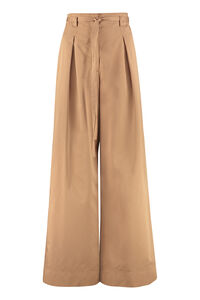 Cotton-twill trousers, Wide leg pants Tory Burch woman