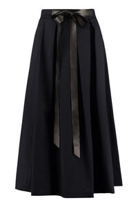 Pleated midi skirt, Midi skirts Department 5 woman
