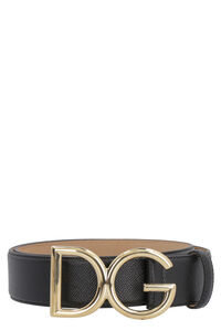Grainy leather belt, Belts Dolce & Gabbana woman