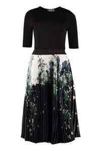 Floral print pleated dress, Knee Lenght Dresses Givenchy woman