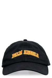 Logo embroidery baseball cap, Hats Palm Angels man