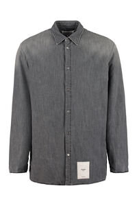 Cotton drill overshirt, Plain Shirts Maison Margiela man