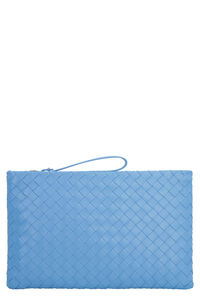 Intrecciato Nappa flat pouch, Bag Bottega Veneta woman