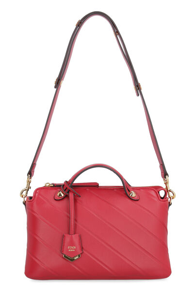 By The Way leather boston bag