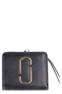 Snapshot mini two-tone leather wallet, Wallets Marc Jacobs woman