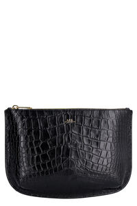Sarah leather clutch, Pouches A.P.C. woman