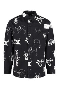 Cotton overshirt, Printed Shirts Kenzo man