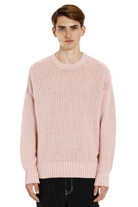 Long-sleeved crew-neck sweater, Crew necks sweaters AMI man