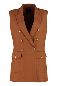 Ubriaco sleeveless jacket, Blazers Pinko woman