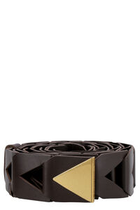 Woven leather belt, Belts Bottega Veneta woman