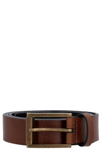Leather belt with buckle, Belts Dolce & Gabbana man