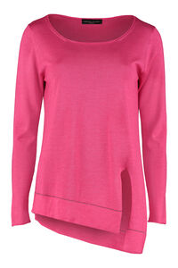 Cashmere and silk blend pullover, Crew neck sweaters Fabiana Filippi woman