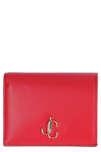 Hanne leather wallet, Wallets Jimmy Choo woman