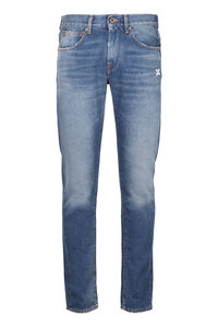 Embroidered slim fit jeans, Slim jeans Off-White man
